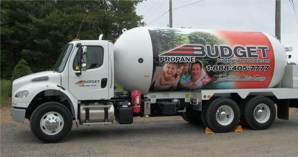 Budget Propane Truck Propane Service Central Ontario