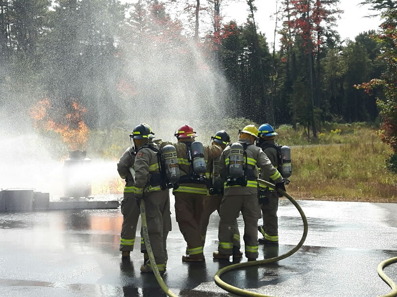 Firefighter training Budget Propane