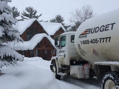 Let Budget Propane Help with your Home or Cottage Propane Needs