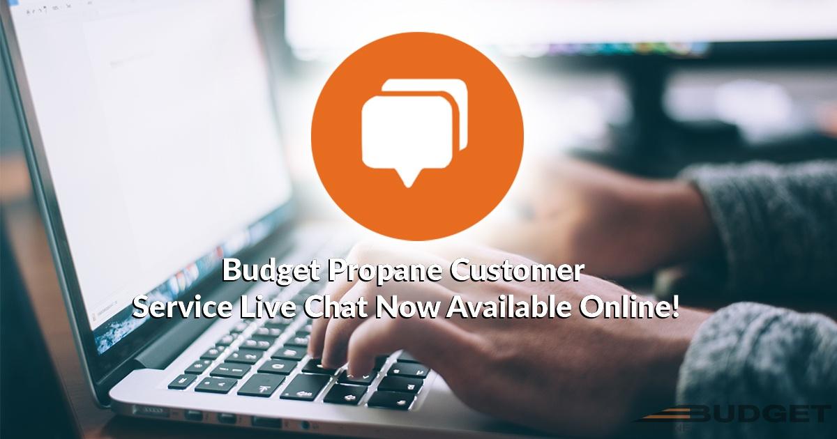 Budget Propane Chat Promo