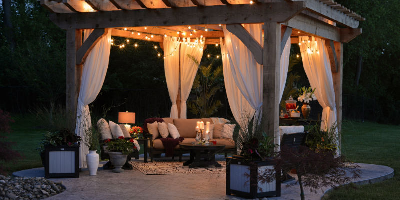 A cosy patio