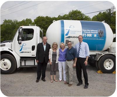 Budget Propane Prostate Truck