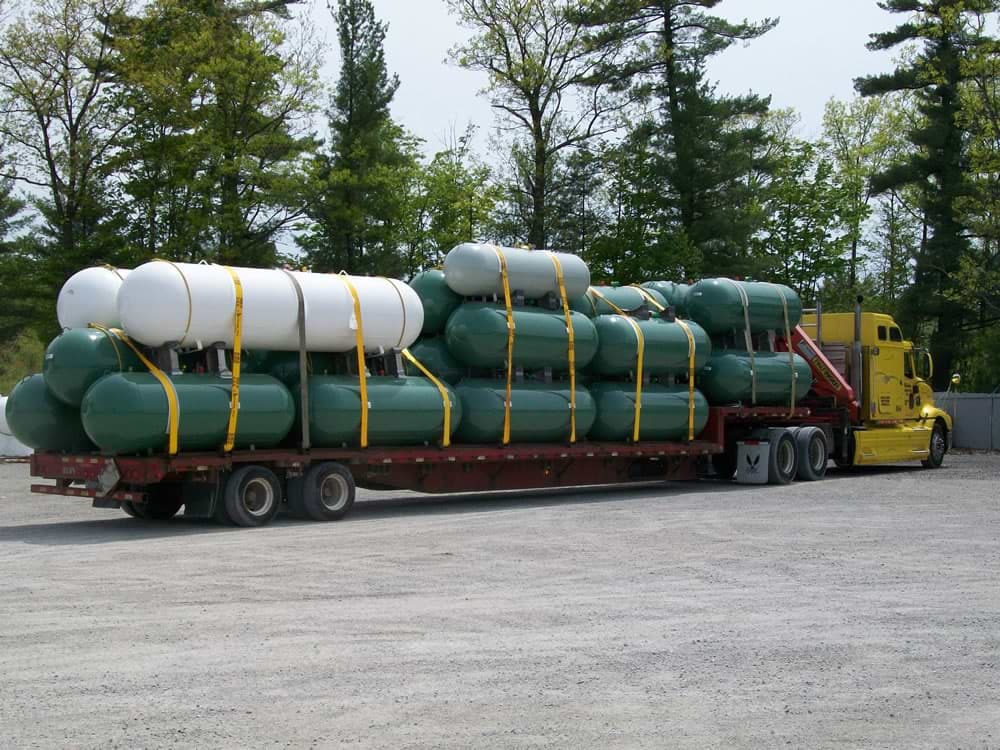 Tanks Ready for Delivery
