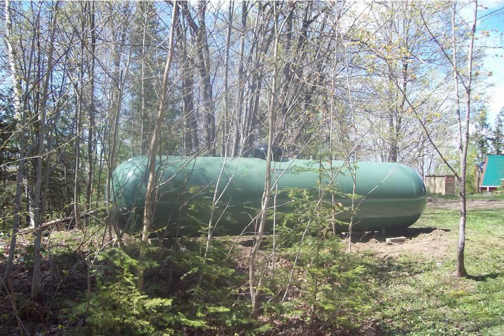Budget Propane Installed Tank