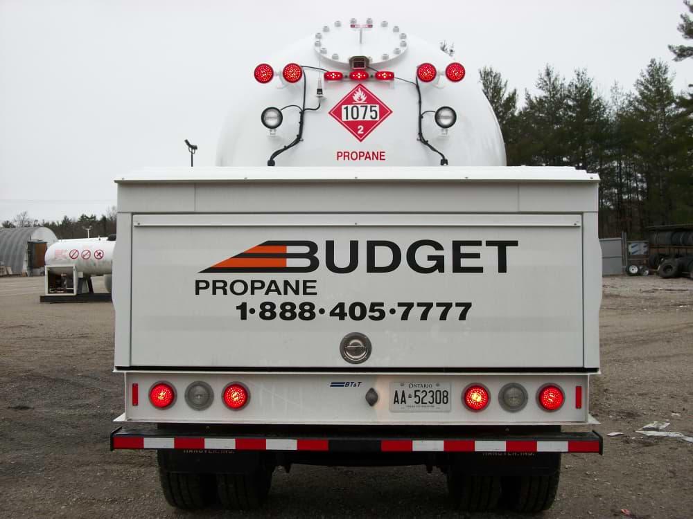 Budget Propane Truck