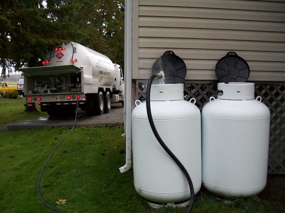 Vertical Propane Tanks