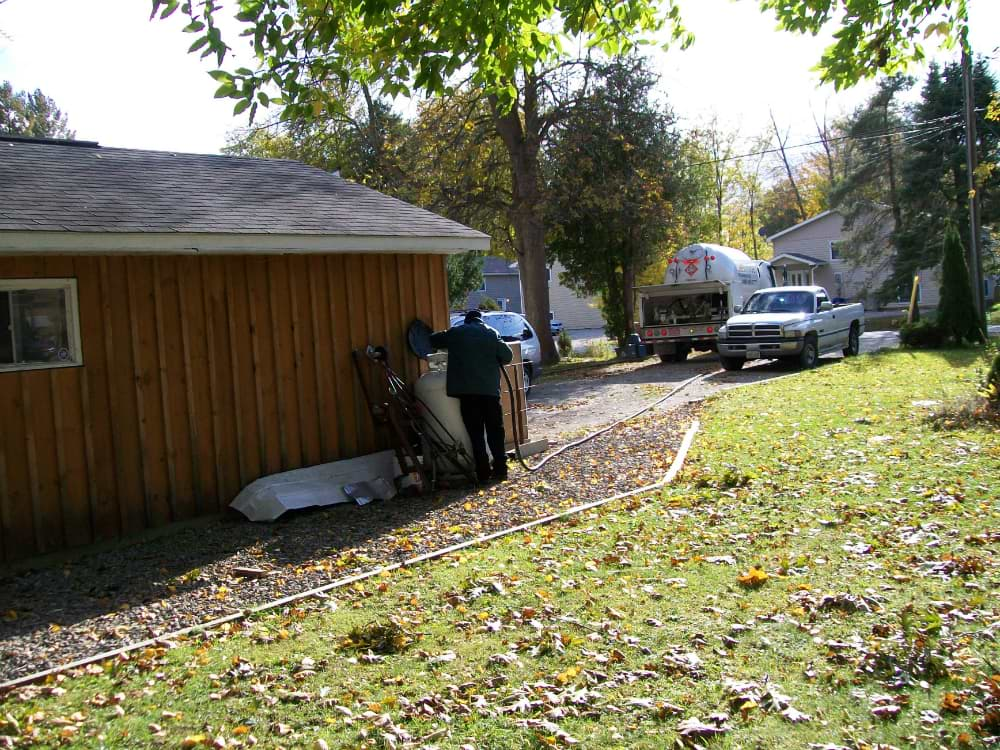 Propane Services for Homes