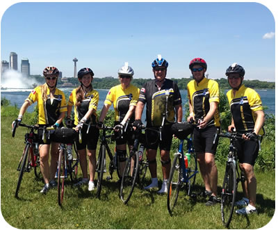 Team Budget Propane Ride For the Cure
