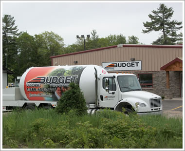 Truck Wrapped Propane