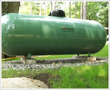Torpedo Propane Tank
